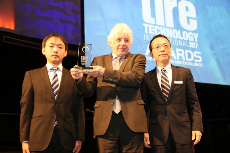 Falken tyre compound technology wins Tire Technology of the Year Award