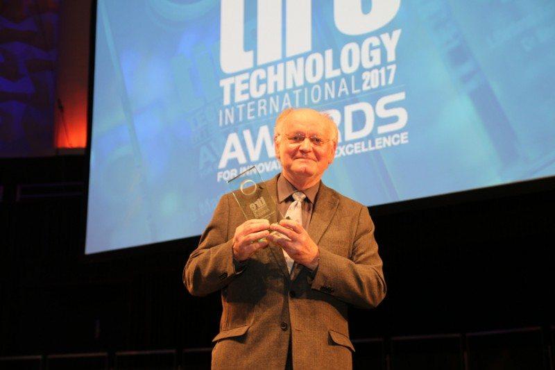 Professor Gert Heinrich, 2017 Tire Technology International Lifetime Achievement Award winner
