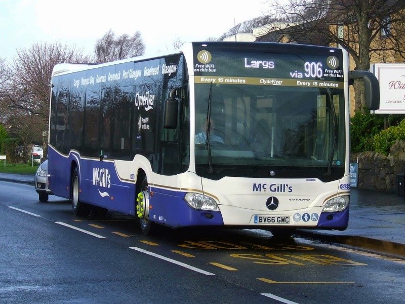 McGill's Buses has signed up for five more years of the Michelin solutions tyre management programme