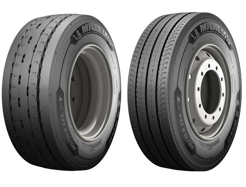 The new tyres will initially be available in 315/70 R 22.5 all-position and drive fitments, alongside 385/55 R 22.5 steer and trailer tyres