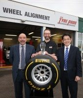 STS Tyre Pros Chester named Pirelli Performance Centre of the Year