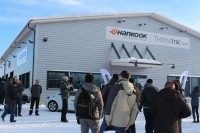 Hankook Tire invited around 80 journalists to witness the official opening of the Technotrac facility