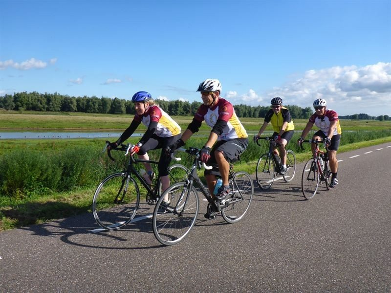 Places filling fast for Transaid cycle challenge