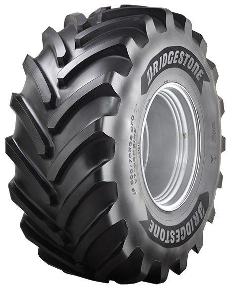 Bridgestone broadens agri tyre range with combine harvester fitments