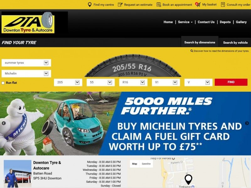 In the last couple of years Michelin has taken several strategic steps towards its goal of occupying a leading position in the online tyre retail channel. Click2Sell (pictured) appears to the latest part of that strategy.