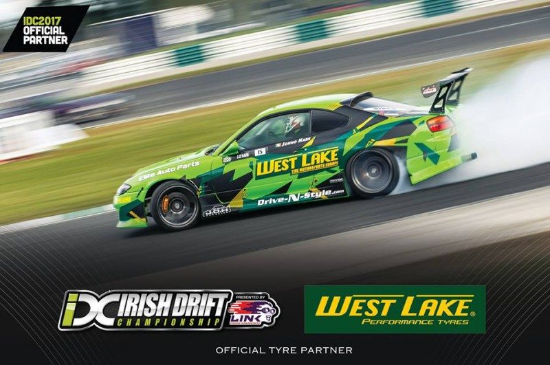 Westlake to partner Irish Drift Championship 2017