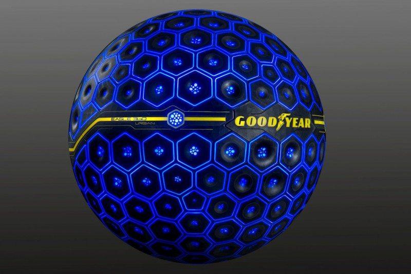Geneva Motor Show: Goodyear unveils 'smart' concept tyre