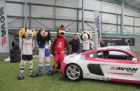 Derby County's Rammie victorious in Avon Tyres Mascot Challenge: video