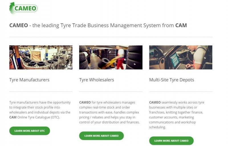 CAM has launched a new Cameo web portal