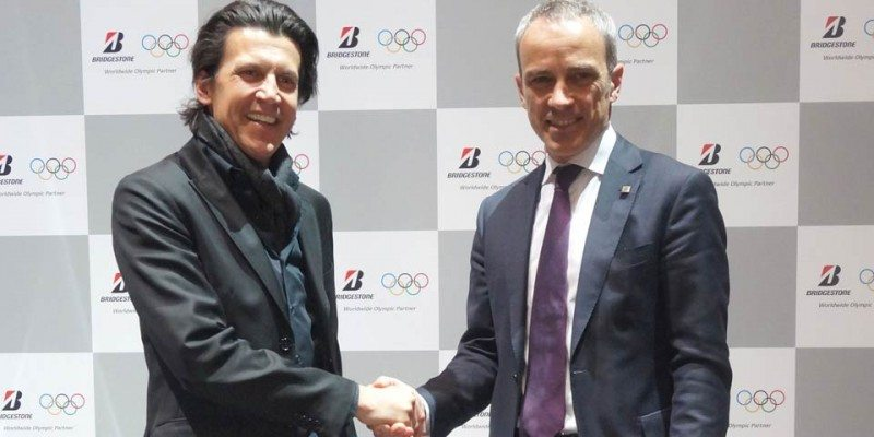 Bridgestone activates Olympic partnership for EMEA