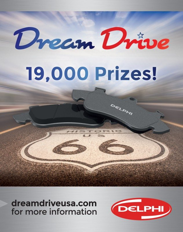 The Parts Alliance launches joint USA 'Dream Drive' promo with Delphi