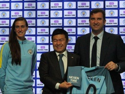 Nexen Tire becomes Man City and the EPL's first ever sleeve sponsor