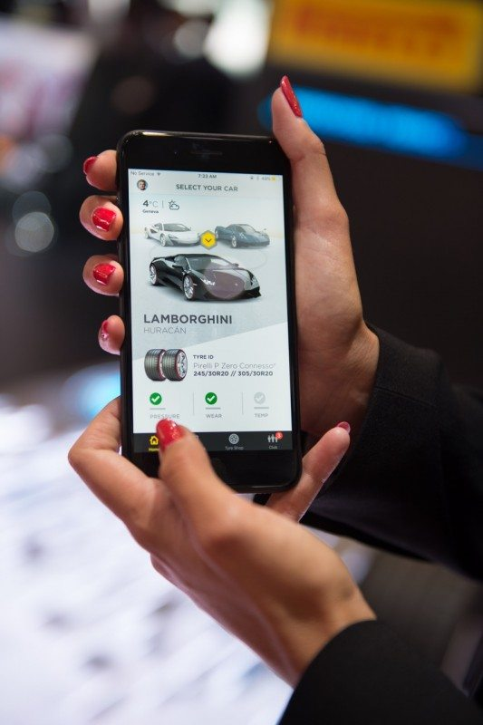 Pirelli launches Connesso integrated tyre sensor, app, cloud system