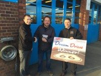 Steve Patch is first winner of The Parts Alliance's 'Dream Drive' promotion