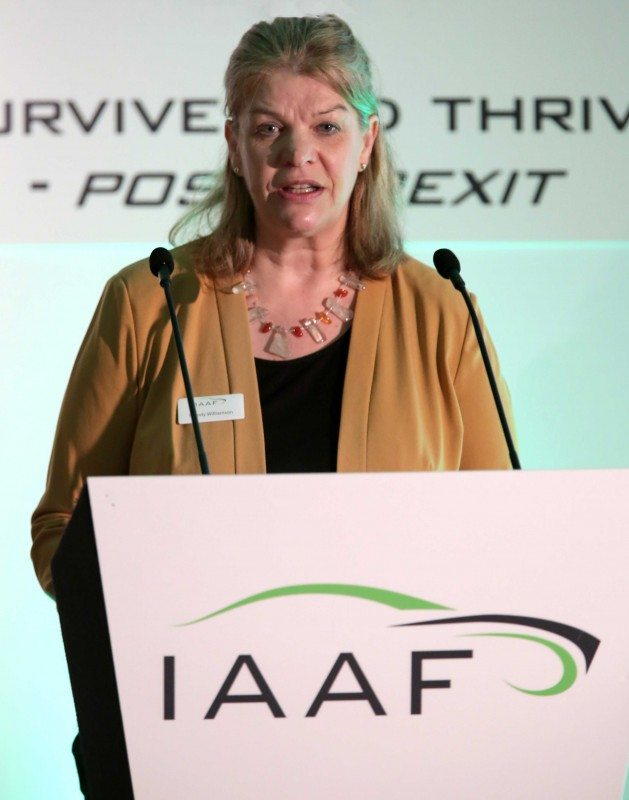 Wendy Williamson, IAAF chief executive