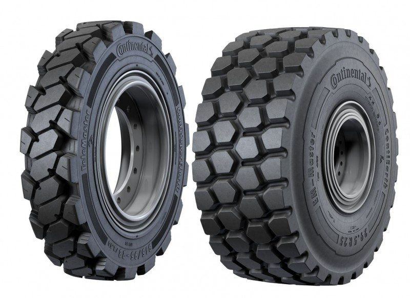 Continental presents new construction and earthmover tyres