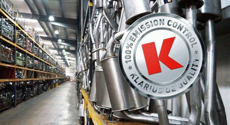Klarius has become one of the UK's first companies to attain ISO 9001:2015 certification for its quality systems