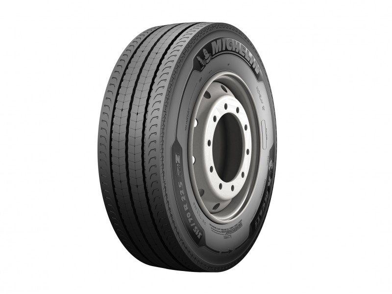 Michelin tests show the next-generation X Multi fitments deliver 15-20 per cent more mileage than the current Michelin X MultiWay 3D series