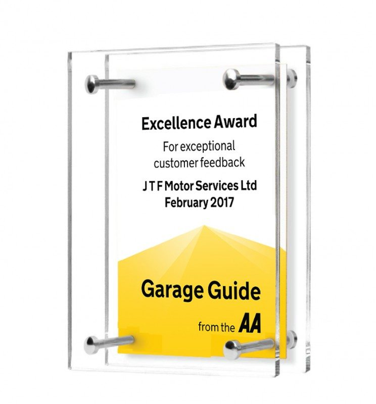 The AA Garage Guide has introduced a monthly award