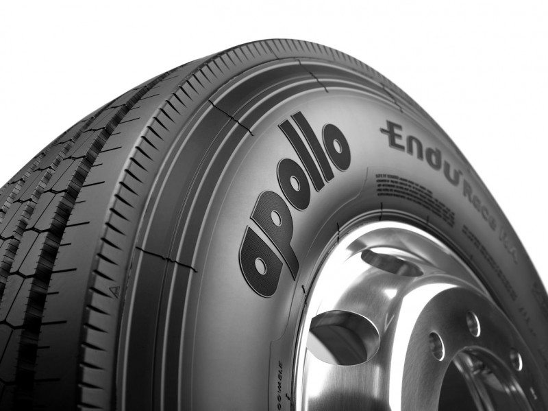 The Apollo EnduRace RA is an all-axle fitment suited to regional and distribution transport