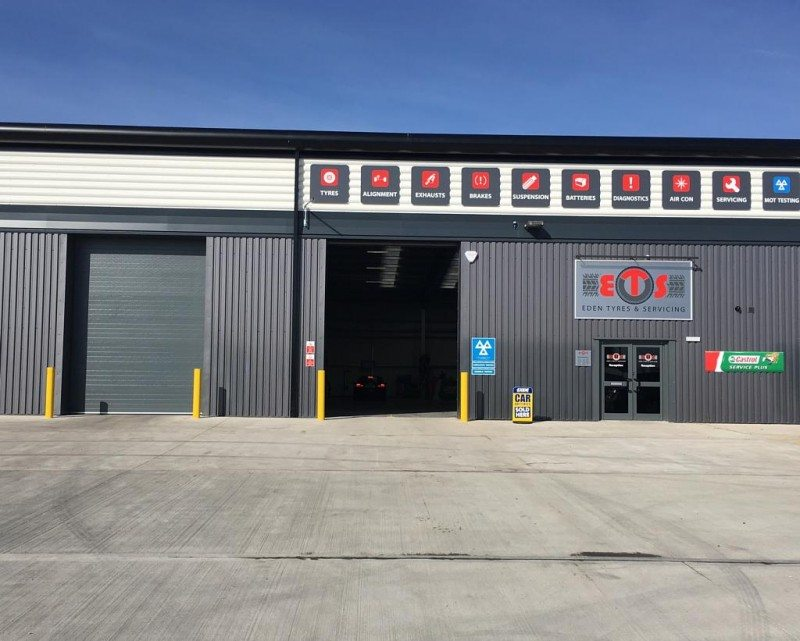 Eden Tyres recently opened its 13th retail location