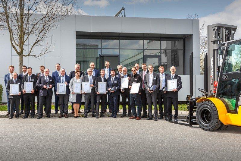 Jungheinrich Production Supplier Award winners