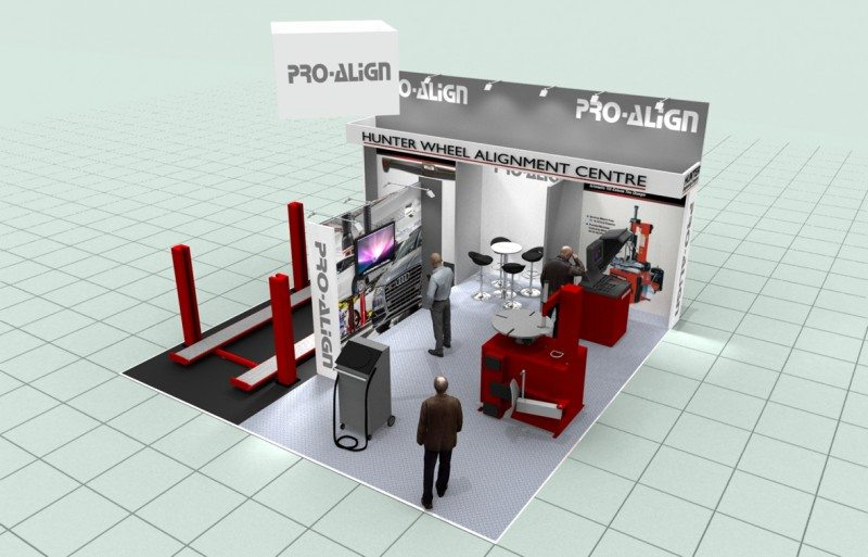 Pro-Align will use its immersive workshop concept at Automechanika Birmingham