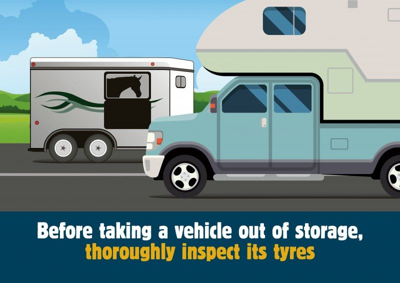 TyreSafe animation urges owners to check tyres on vehicles returning to roads: video