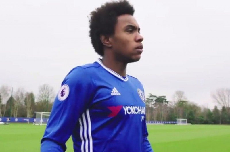 Willian stars in the most recently released short film, Speed