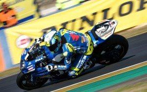 The Suzuki Endurance Racing Team narrowly missed out on a podium in fourth place