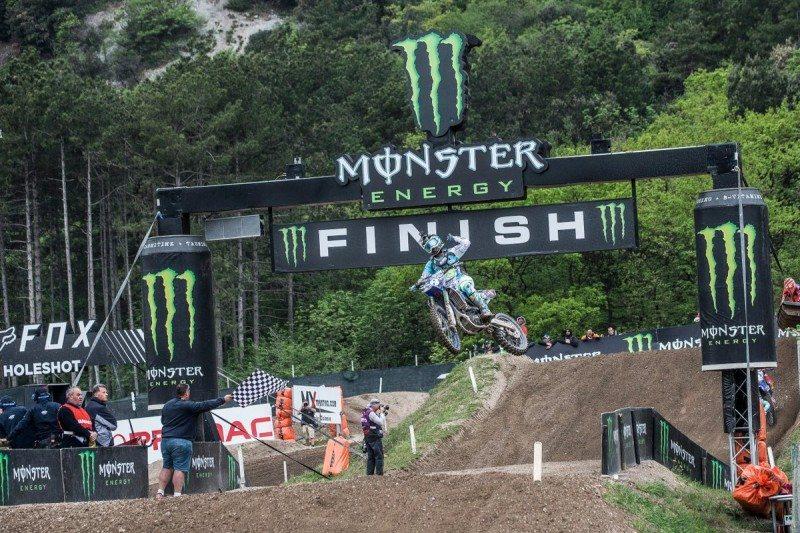 Kiara Fontanesi wins the Trentino Women's Motocross World Championship round