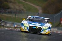 Dunlop shod Audi R8 LMS take 1-2 in 6 hour Nürburgring endurance
