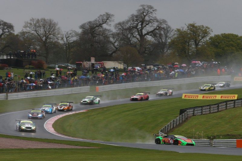 Pirelli to supply British GT grid of 30 cars at Rockingham