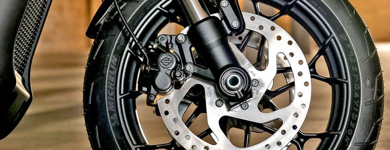 Michelin sole tyre supplier to Harley-Davidson Street Rod