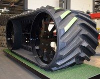 Obo's new rubber tracks are coming to market in time for their fitment on harvesting machines in late spring