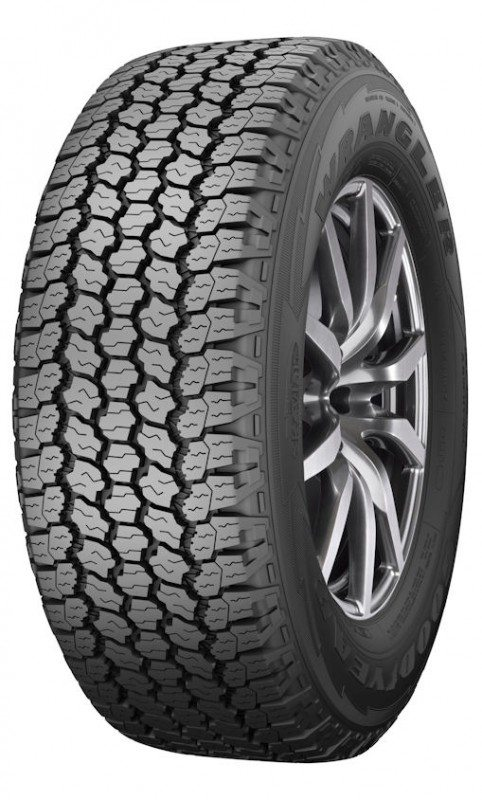 SUV tyre with off-road capability: Goodyear Wrangler All-Terrain Adventure