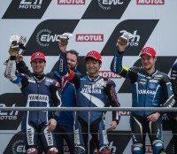 No Le Mans win, but Bridgestone back on motorcycle championship podium