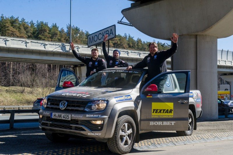 Zietlow thanks Goodyear for help during record-breaking Dakar to Moscow trip