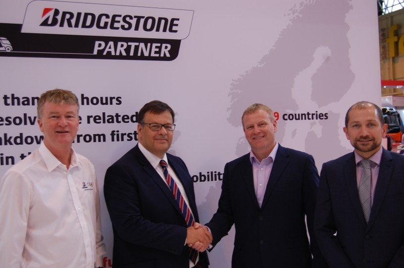 Bridgestone extends its fleet deal with Arla to 2020