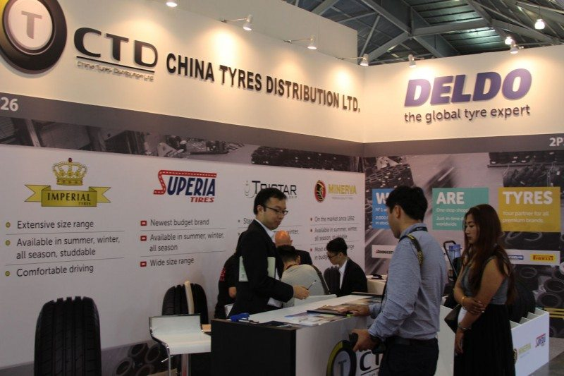 Although most of Deldo's sales are generated in Europe, it is active globally; the wholesaler connected with APAC customers at April's Tyrexpo Asia