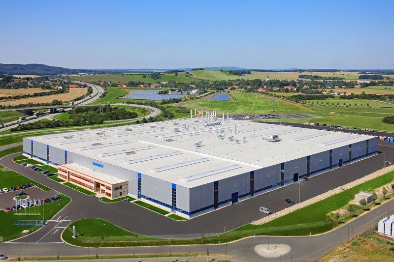 The new Borbet plant in Kodersdorf covers 5 hectares