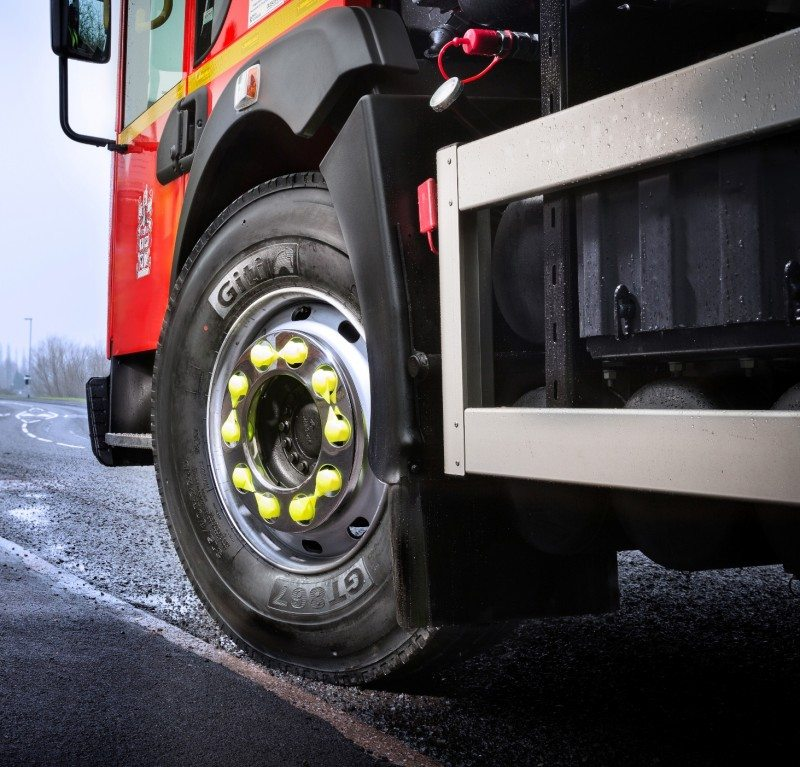 The Giti GT867 urban bus and refuse collection tyre was introduced to the European market at the CV Show