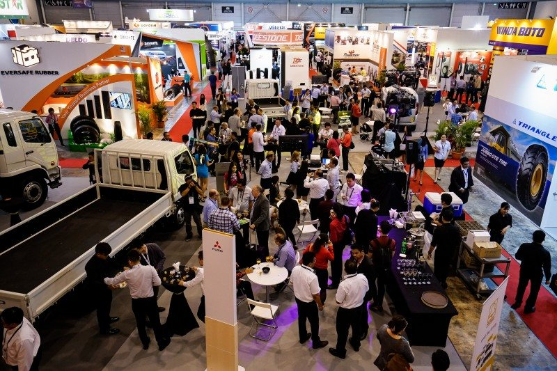 The comparable show format of Tyrexpo Asia, which was last held in March 2017