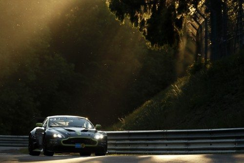 The Aston Martin Vantage GT8 took SP8 class victory on Dunlop rubber