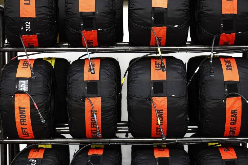 Pirelli gives teams 13 sets of slick tyres per race weekend