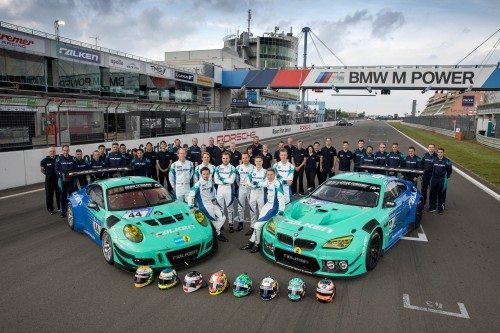 The Falken Motorsport team grew to include the new BMW M6 GT3 at the 2017 Nürburgring 24h race
