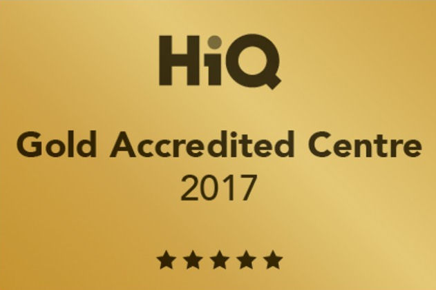 Gold accreditation for 36 HiQ outlets