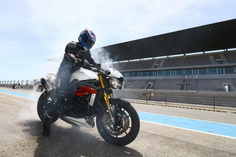 Steve Parrish, Avon Tyres Brand Ambassador at the Spirit ST launch in Portimao