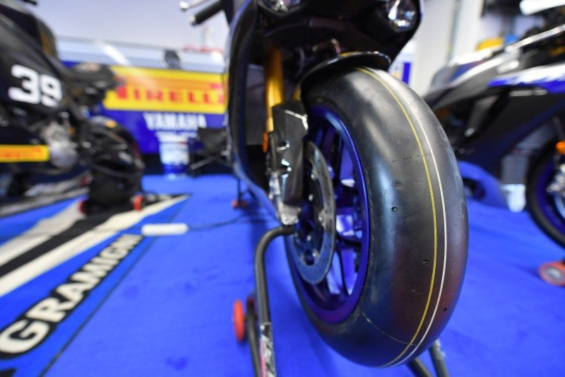 Pirelli, Yamaha support Alex Gramigni track riding courses