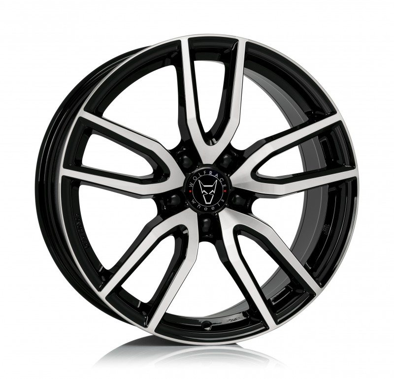 The new Wolfrace Torino in gloss black with polished spokes